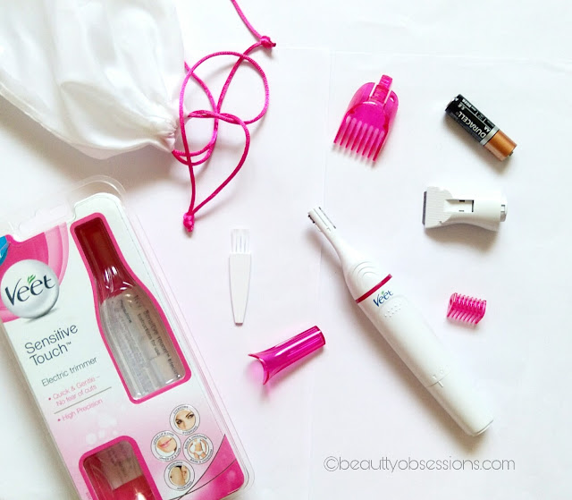 Veet Sensitive Touch Electric Trimmer - Review & my Experience