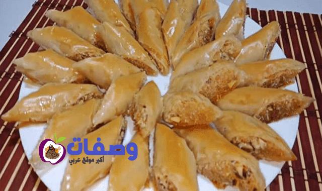 طريقة عمل الجلاش الحلو فاطمة ابو حاتي