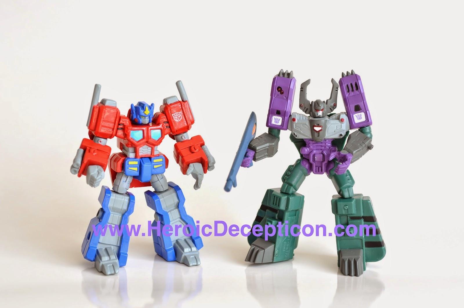 Heroic Decepticon: Takara Transformers SCFs - ACT 9 Chase figures