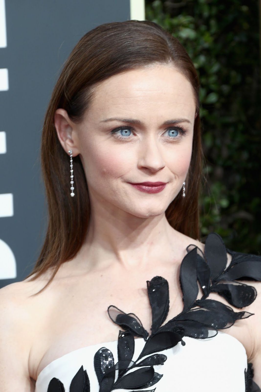 HD Photos of HOT Alexis Bledel At 75Th Annual Golden Globe Awards In Beverly Hills