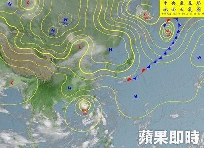 Musim Libur Perayaan Kemerdekaan Taiwan Akan Basah Kuyub dan Cuaca Mulai Dingin