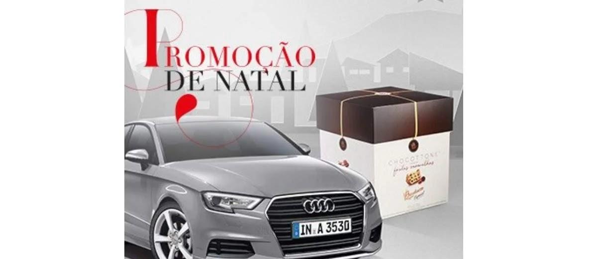Promoção Galleria Shopping Natal 2019 Ganhe Panettone e Concorra Audi A3