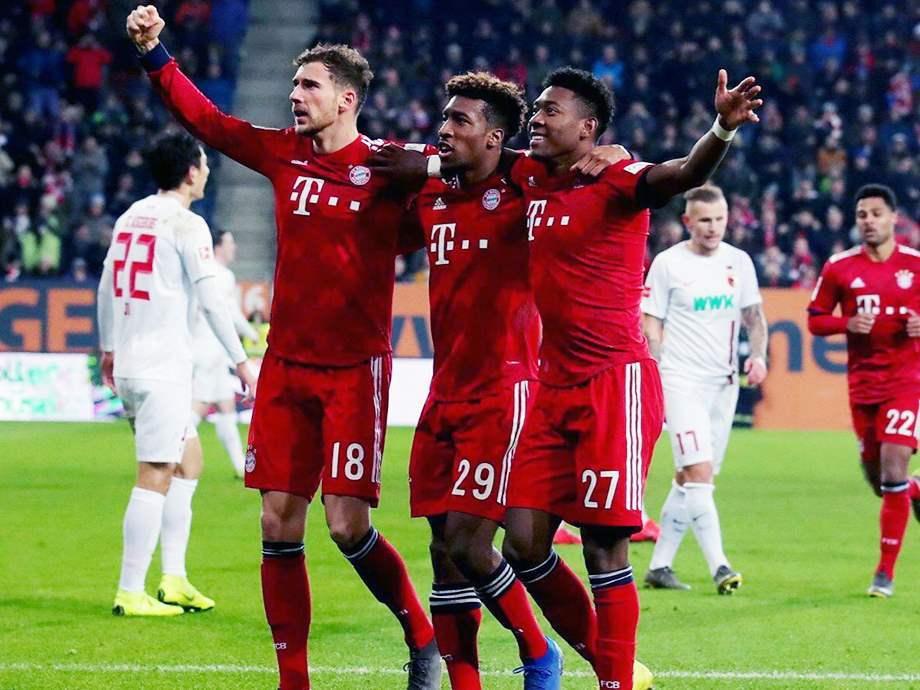 نتيجة مباراة بايرن ميونخ وأوجسبورج بتاريخ 08-03-2020 الدوري الالماني
