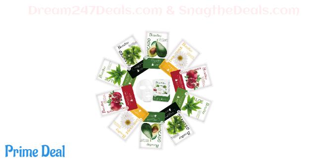 70% off 10 pcs Face Sheet Mask Pack, Natual Plant Essense Full Facial Masks Sheet Set