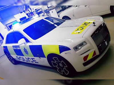 police car, Rolls Royals, england
