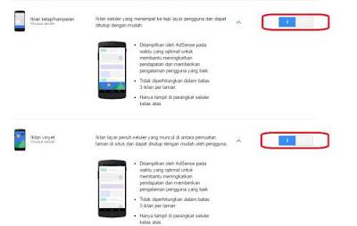 Memasang Iklan Baru Adsense di Android