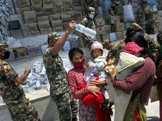 Indian relief food items for Nepal quake victims substandard