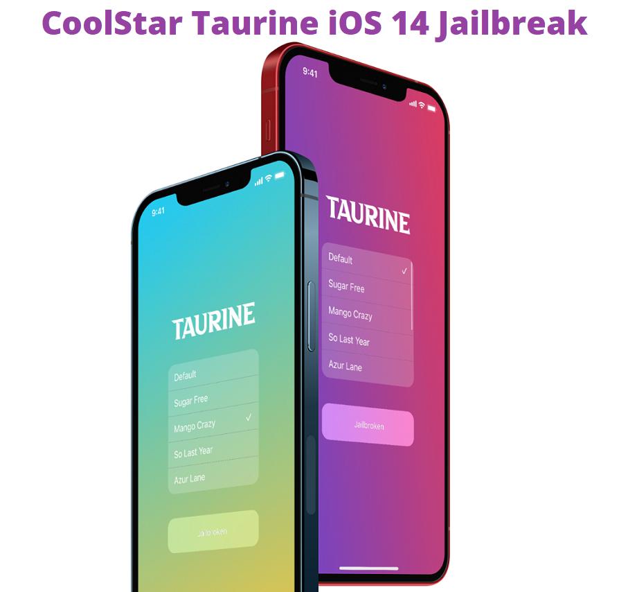Jailbreak iOS 14 using CoolStar Taurine