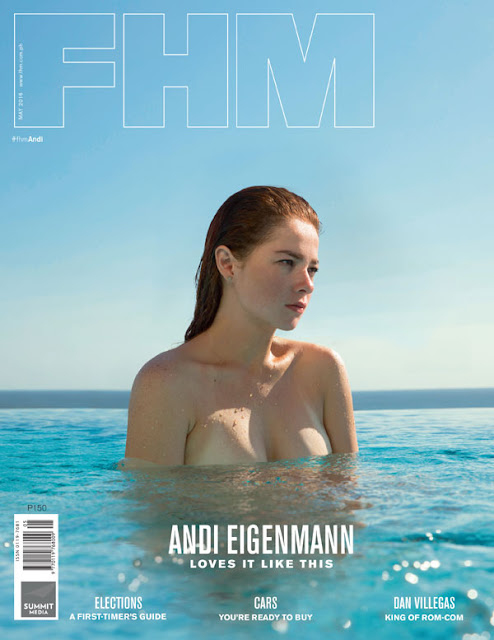 Andi Eigenmann FHM May 2016 Cover Girl A Sun-Kissed