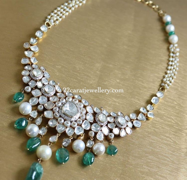 Splendid Flat Diamond Choker