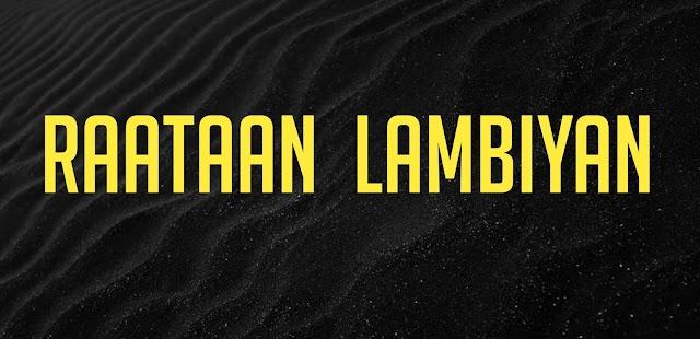 Raataan Lambiyan Ringtone Download