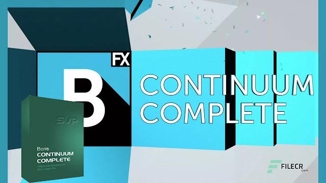 Boris FX Continuum Complete 2021.5 v14.5.0.1131 for Adobe/OFX