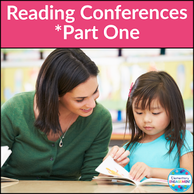 This post includes free reading conference form to help you organize for reading conferences with students.