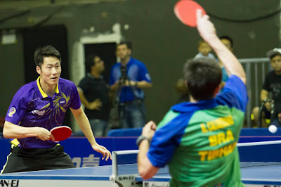 Hugo Calderano Won in Table Tennis Warm-Up Event Over Chinese Star at Rio