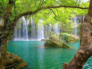 Kurşunlu Waterfall turkey