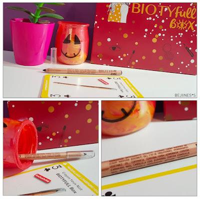 """BIOTYfull Box """"L'Emerveillée"""" crayon khol noir"""
