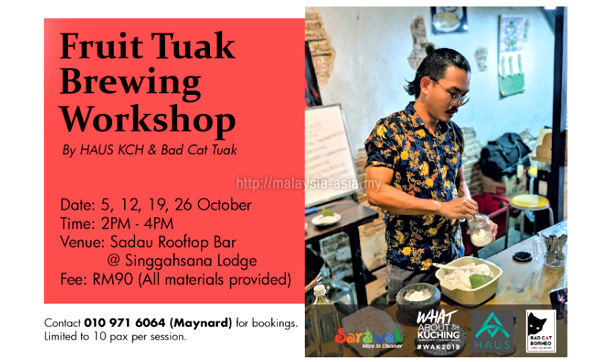 Tuak Making Workshop
