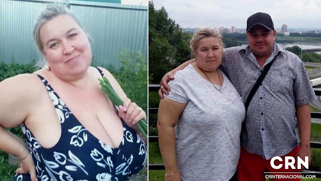 Mujer de más de 100 kilos asfixió a su esposo