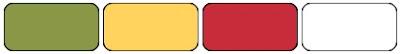 palette de couleurs stampinup