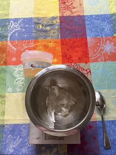 Réalisation du savon bonbon nounours