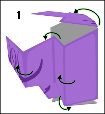 step 3 in making the head of faceless void
