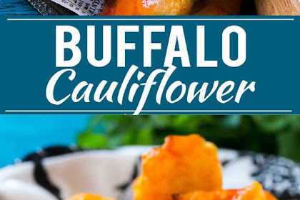Buffalo Cauliflower Bites Recipe AD