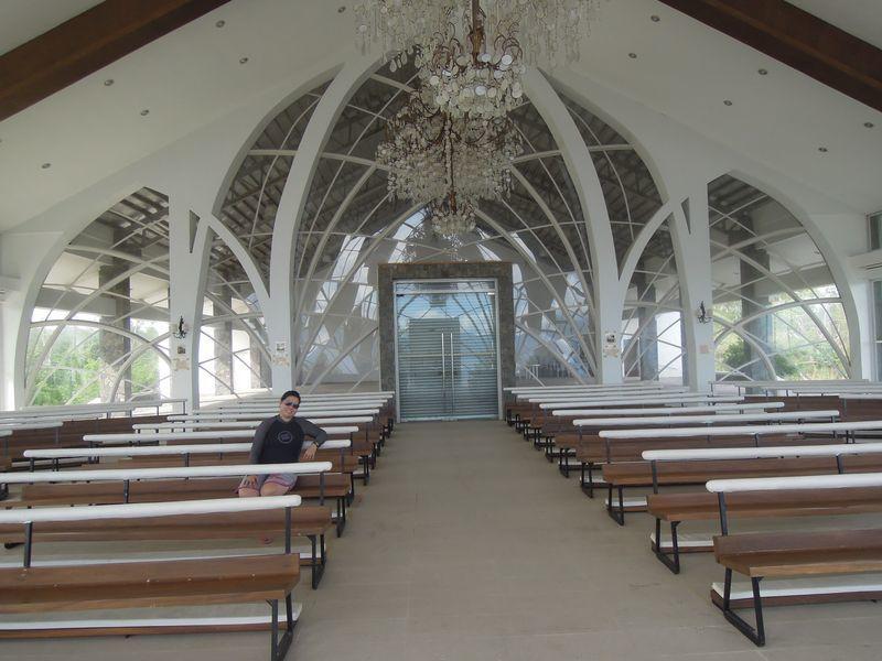 Inside the Stela Maris Chapel in Misibis Bay