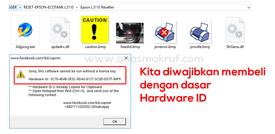 Free Download Resetter Epson L405 Wifi Kedip Adjustment Program 2020 Anasmakruf Com