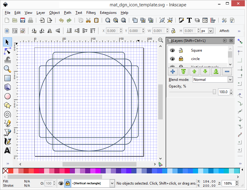 Dominoc925 Svg Template For Creating Android Material