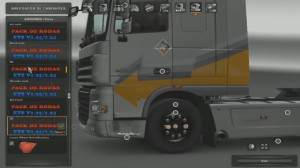 Pack with 50 wheels and customizations
