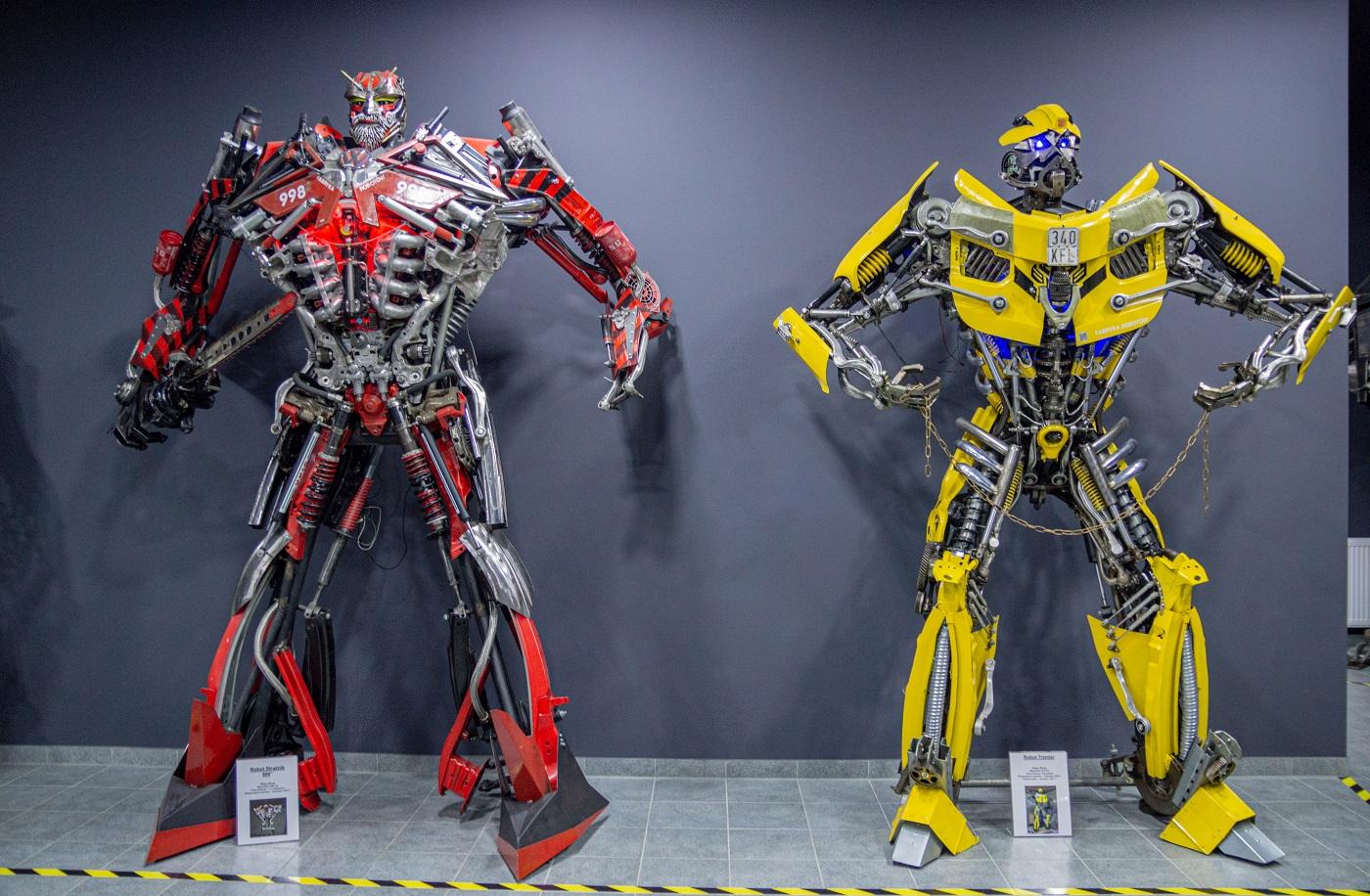 Transformers fabryka robotów Moszna