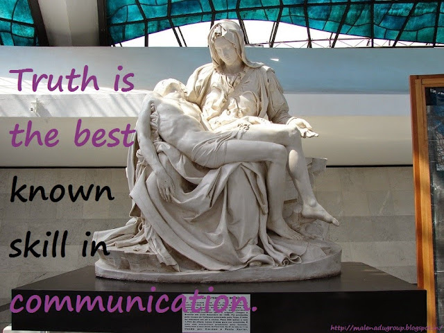 Quotes on truth in Communication