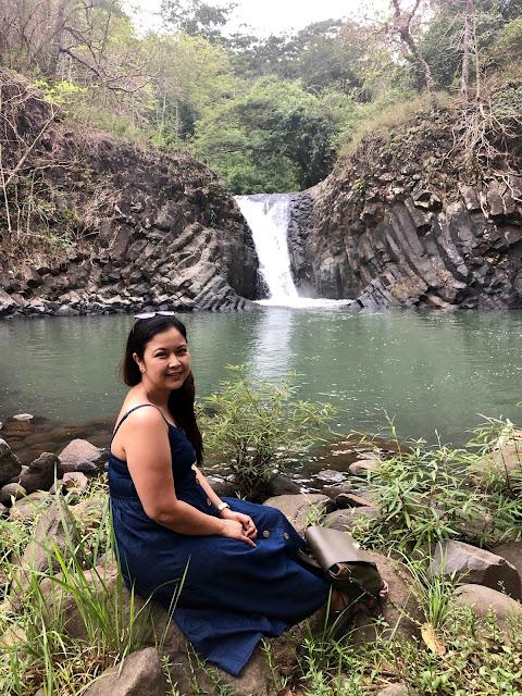 MYB at Dunsulan Falls Pilar Bataan