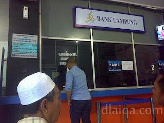 loket Bank Lampung untuk pembayaran PKB dan Asuransi