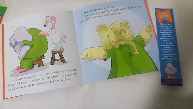 o elefante elegante
