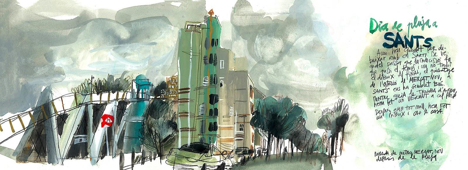 Big Gouache and Mixed Media Workshop: San Francisco | Urban Sketchers