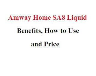 AMWAY HOME SA8 LIQUID