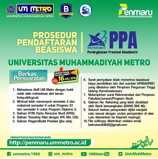 PPA & Bidikmisi Scholarship 2019
