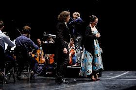Queen Sonja International Music Competition 2019 - Adam Kutny (Poland), Natalia Tanasii (Moldova), Risto Joost (Photo Adrian Nielsen)