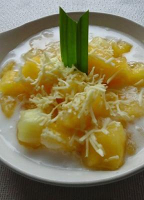 spesialresep.com - Resep Singkong Thailand Keju