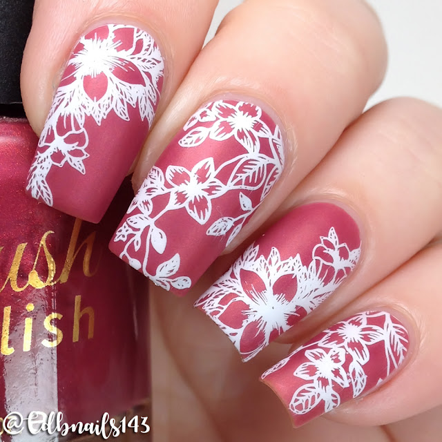 Delush Polish- Oopsie Daisy DP05 Stamping Plate