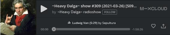 heavy dalga show 309, Beethoven