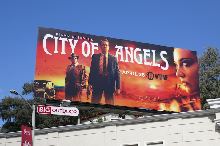 Penny Dreadful City of Angels billboard