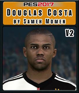 PES 2017 Faces Douglas Costa by Sameh Momen