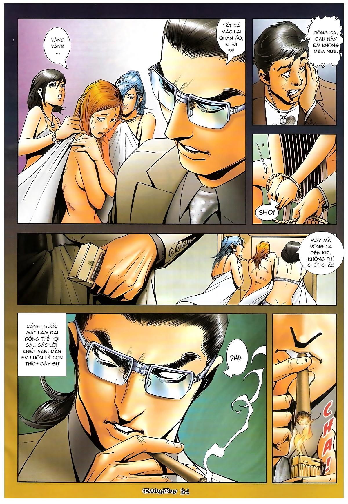 Người Trong Giang Hồ - Chapter 1265: Bát vàng rửa tay - Pic 21
