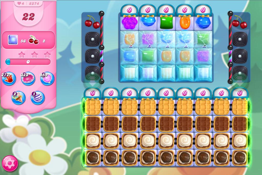 Candy Crush Saga level 8274