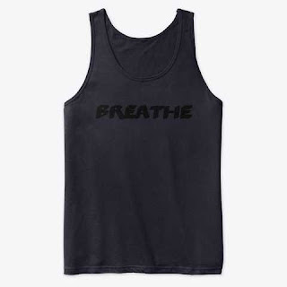 Breathe Premium Tank Top Black