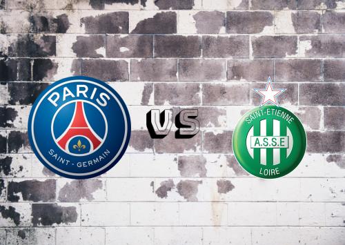 PSG vs Saint-Étienne  Resumen