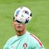 Cristiano Ronaldo Semangat Keras Berjuang Di Lapangan