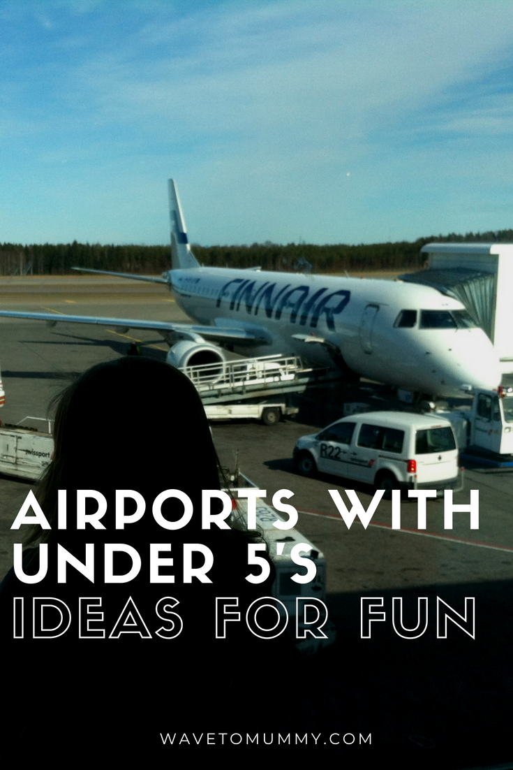 How to entertain kids at the airport - top tips for families flying and fun ideas when waiting